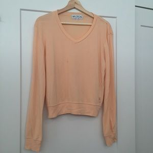Wildfox long sleeve pullover